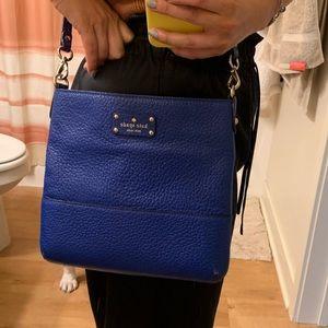 kate spade Bags - Kate Spade Cobalt Blue Crossbody Bag